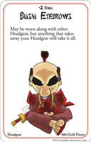 Munchkin Fu: Bushi Eyebrows by Rumduke