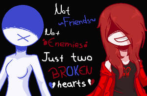.: Just Two Broken Hearts :. [OPEN CP COLLAB] by ShadowDash1356