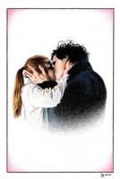 Sherlock and Molly by bartosanda
