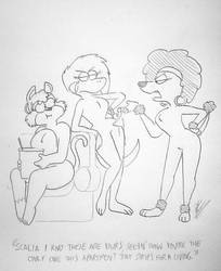 Coco and Nutmeg: Loose Panties by RockyToonzComics