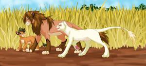 LaS - Lions by glyfy