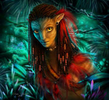 Neytiri    (Avatar) by AlenaEkaterinburg