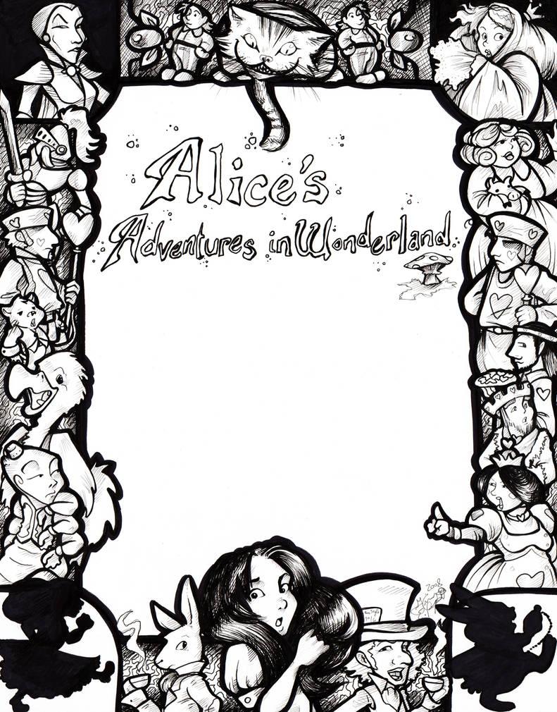 Alice's Adventures - Flier by LeftiesRevenge