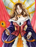 Sapphire Queen by LeftiesRevenge