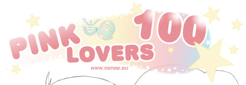 Pink Lovers 100 - painting by nenee