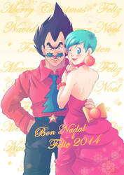 Merry Xmas and better 2014 :D by nenee