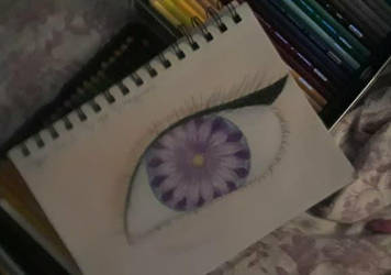 Flower eye redraw by Shmegicorn