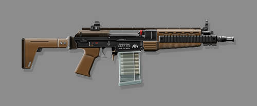 Arsenal Arms AS-57 M/C (Final Version) by nerdwerk