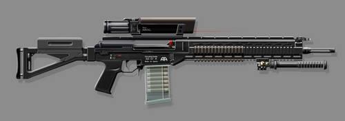 Arsenal Arms AS-57 M DMR by nerdwerk