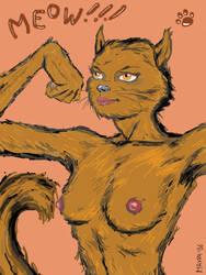 Cat-Woman by maxpa27