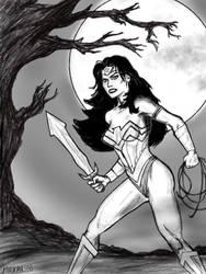 Wonder Woman Halloween  by maxpa27