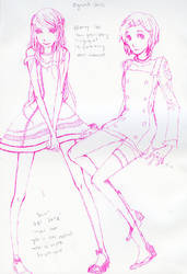 Sketchdump:eureak and anemone by smile-sun-raiyne