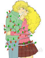 Comision_navidad_Albert y Candy by Lorelei2323