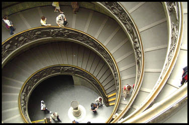 Vatican Stairs by tilbert