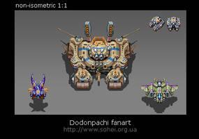 Dodonpachi fanart by iSohei