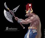 Minotaur by iSohei
