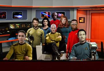 Star Trek The Next Generation by PZNS
