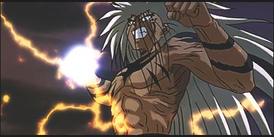 Urameshi's Power Up by x-Rayzen-x