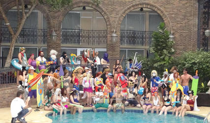 League Of Legend Pool Party - 01 by frenchraph