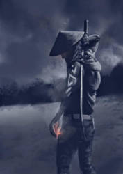 Tribal Samurai by AymQi