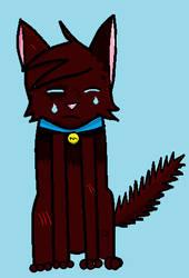 Kittypet: Redpelt (Muddy) by DiscoBearsFTW
