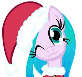 New OC: SeaSwirl - Merry Xmas! by DiscoBearsFTW
