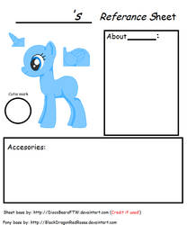 MLP Referance Sheet base by DiscoBearsFTW