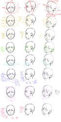 The Head Guide Study by Jotaku