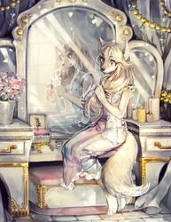 ::YCH:: Mirror by Jotaku