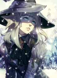 ::Commission:: Snow Theme //  invisiblefriend by Jotaku