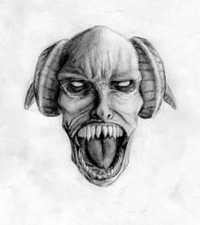 Mr. Screamy Face by carpenocturne