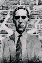 H.P. Lovecraft by carpenocturne