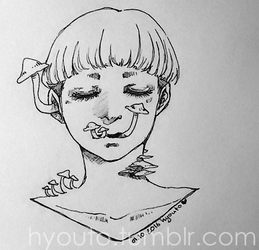 Inktober 2016 #01 by hyouto