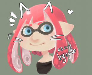 Squid girl by hyouto