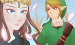 A Link Between Lovers by tigeatoray