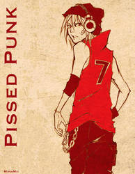 Pissed Punk + Sketch + by MinaMii