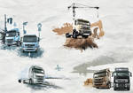 Volvo Trucks - Picture Series by visio-art