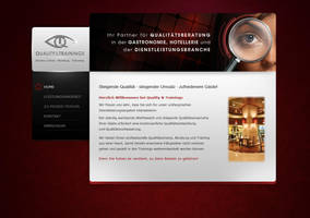 Quality and Trainings Website by visio-art
