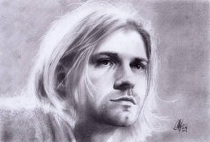 Kurt Cobain by RolfRaven