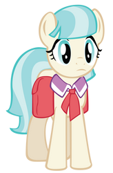 Coco Pommel vector by FluttershyElsa