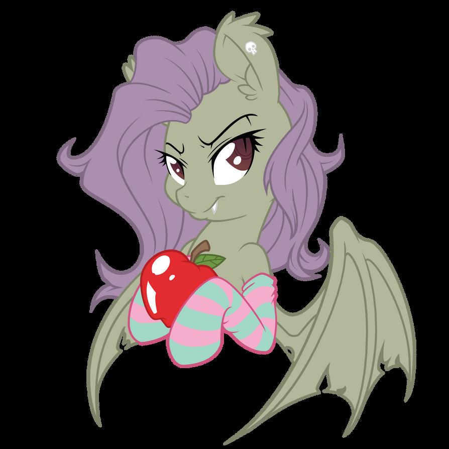 Hallowed Flutterbat Vectorization - Bat Colors by FluttershyElsa
