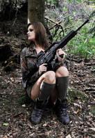 german hot soldier girl by KuLLerMieTze