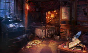 Ashtons room by Rockwitchseiya