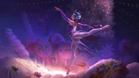 Sugar plum fairy. Fan art. by Rockwitchseiya