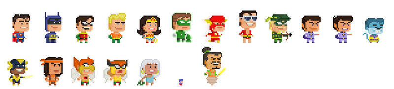 DC - Challenge of the Super Friends by Pixelfigures