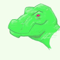 green Rex by ReppinRep
