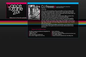 DJ Profile DT Website by D-Fekt