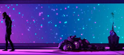 Neon Killer Mass Effect by Shaman94