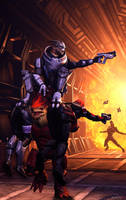 Ass savior |Mass Effect by Shaman94