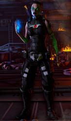 Retribution|Mass Effect by Shaman94